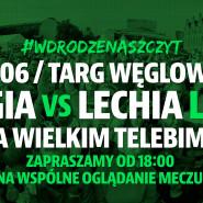 Mecz Legia - Lechia na Targu Węglowym