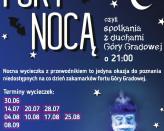 Fort nocą - duchy Góry Gradowej