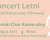 Koncert Letni muzyki klasycznej i filmowej