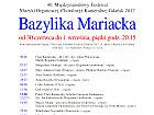 40. Międzynarodowy Festiwal Muzyki Organowej, Chóralnej i Kameralnej Gdańsk 2017