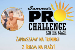 Summer pro challenge on the beach