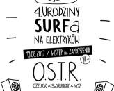4# Urodziny SurfBurgera x OSTR x Czeluść x SoDrumatic x NOZ