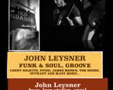 John Leysner - Funk & Soul, Groove