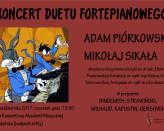 Koncert duetu fortepianowego Adam Piórkowski & Mikołaj Sikała