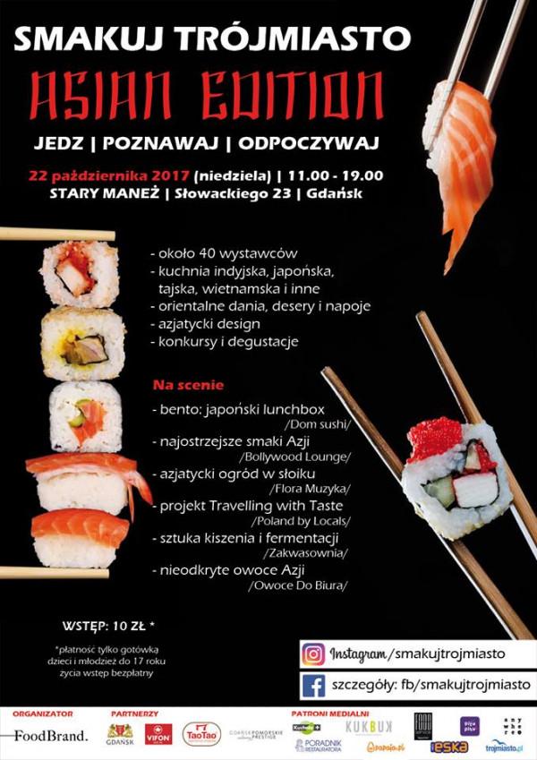 Smakuj Trójmiasto Asian Edition Stary Maneż Gdańsk