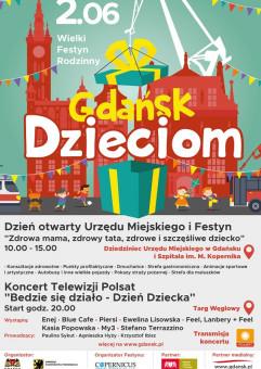 Gdańsk Dzieciom - Wielki Festyn Rodzinny