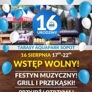 16. Urodziny Aquaparku - piknik muzyczny na tarasach