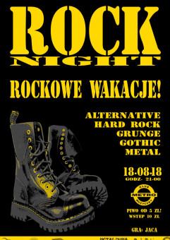 Rockowe Wakacje: Rock Night