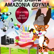 Zaproszenie do Sali Zabaw Amazonia