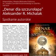 Promocja książki Denar dla szczurołapa