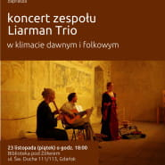 Koncert Liarman Trio