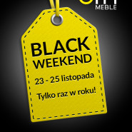 Black Weekend w Galerii Wnętrz City Meble.