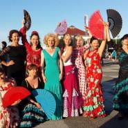 Taniec flamenco - solo i w grupie