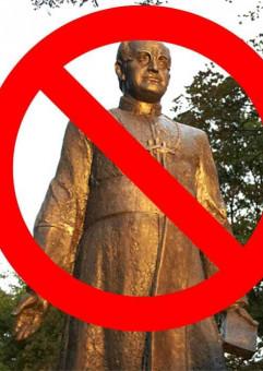 Protest: Pomniki dla ofiar - nie dla katów