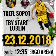 Bilety na mecz koszykówki: TREFL Sopot - TBV Start Lublin