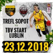 Koszykówka: TREFL Sopot - TBV Start Lublin