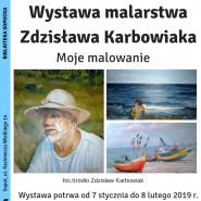 Wystawa malarstwa Zdzisława Karbowiaka