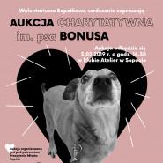 Aukcja Charytatywna im. psa Bonusa