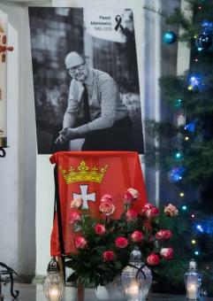 Pożegnanie Pawła Adamowicza w ECS