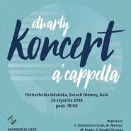 Otwarty koncert a cappella / Akademicki Chór Politechniki Gdańskiej