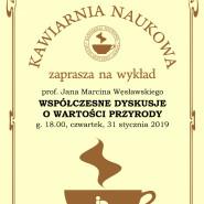 Kawiarnia Naukowa - spotkanie i wykład