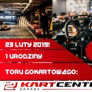 1 Urodziny Toru Gokartowego Kartcenter Gdańsk