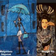 Duet artystyczny: wystawa twórczości Małgorzaty Bieniek (Maggie Piu) i Małgorzaty Stępniak