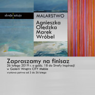 Finisaż malarstwa Agnieszki Olędzkiej i Marka Wróbla