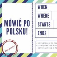 Mówimy po polsku- warsztaty