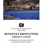 Wernisaż wystawy Benedykta Kroplewskiego