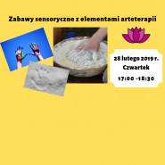 Zabawy sensoryczne z elementami arteterapii