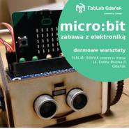 Micro:bit - robot borsuk:bit - warsztaty dla dzieci