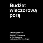 Budżet wieczorową porą - punkt konsultacyjny