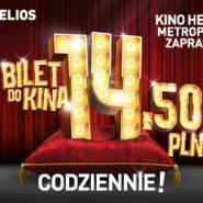 Bilety do kina Helios Gdańsk Metropolia - cały Tydzień TYLKO 14,50 zł.
