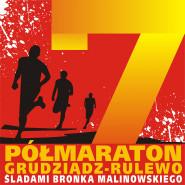VII Półmaraton Grudziądz - Rulewo Śladami Bronka Malinowskiego