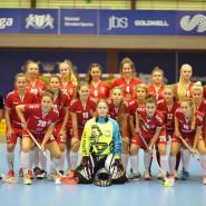 Półfinał ekstraligi kobiet w unihokeju: Interplastic Olimpia Osowa Gdańsk - Góralki Nowy Targ