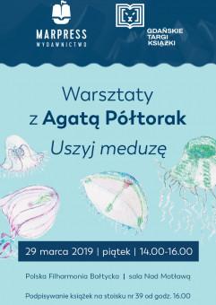 Agata Półtorak na Gdańskich Targach Książki