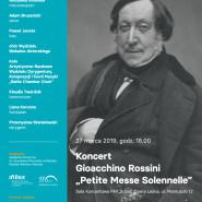 Koncert Gioacchino Rossini - Petite Messe Solennelle