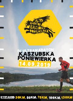 Ultramaraton Kaszubska Poniewierka 2019