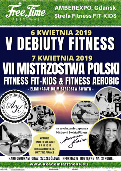 Mistrzostwa PolskiFitness Fit-Kids & Fitness Aerobic