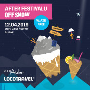 Afterparty Festivalu OFF SNOW