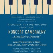 Licealiści w Dworku - koncert kameralny