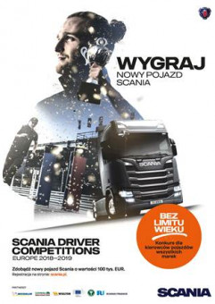 Finał Konkursu Kierowców Scania 2018 - 2019