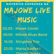 Majowe Live Music: Slingshot Trio