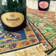 Ruinart & Art - szampańska kolacja urodzinowa Białego Królika