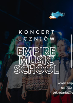 Koncert Semestralny uczniów Empire Music School