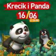 Filmowe Poranki:Krecik i Panda, cz. 1