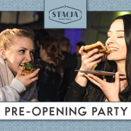 Pre-opening Stacji Food Hall