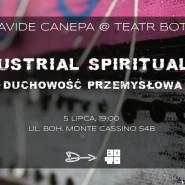 Davide Canepa - Duchowość przemysłowa - wernisaż