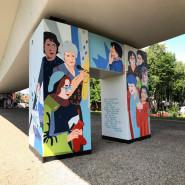 """Odsłonięcie muralu """"Kobiety Wolności"""""""